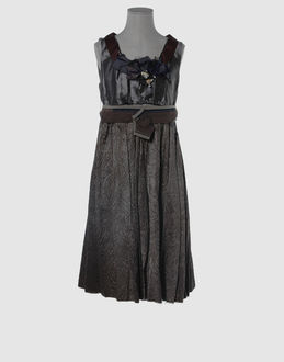 Marni - Dresses - 3/4 length dress Marni on YOOX :  shopping designer dress second city style