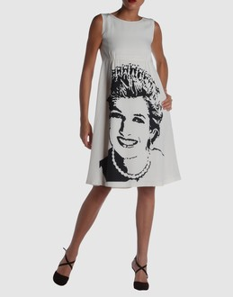 JC de CASTELBAJAC Women - Dresses - 3/4 length dress JC de CASTELBAJAC on YOOX :  tunic princess diana graphic jc de castelbajac princess diana