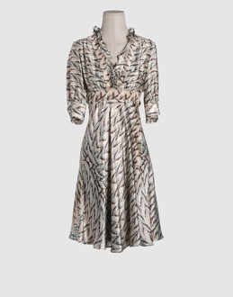 ROBERTO CAVALLI - 3/4 length dresses - at YOOX.COM