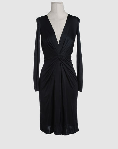 ISSA Women - Dresses - 3/4 length dress ISSA on YOOX :  dress black dress yoox issa