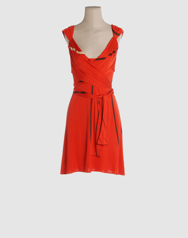 ISSA Women - Dresses - Short dress ISSA on YOOX :  shoe string laces clothing women dresses
