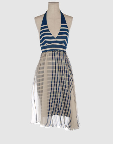 JEAN PAUL GAULTIER SOLEIL Women - Dresses - Short dress JEAN PAUL GAULTIER SOLEIL on YOOX from yoox.com