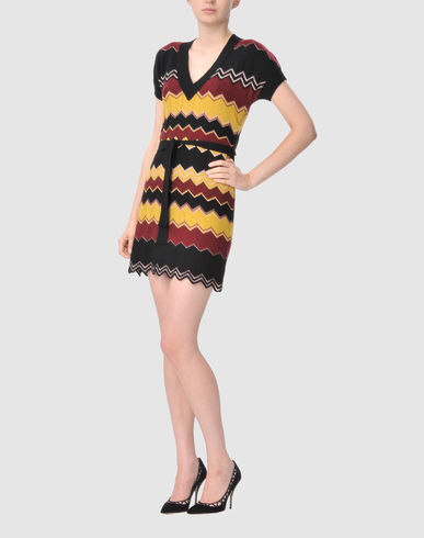 M MISSONI Women - Dresses - Short dress M MISSONI on YOOX :  m missoni belt loops short dress women