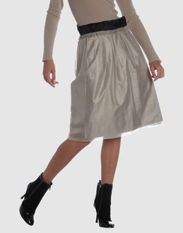 CHLOE' Women - Skirts - 3/4 length skirt CHLOE' on YOOX :  luxury designer chloe skirts
