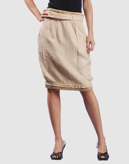 YSL RIVE GAUCHE - Knee length skirts - at YOOX.COM