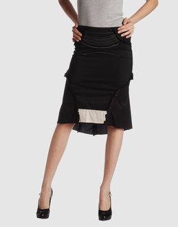 LTD FORNARINA Women - Skirts - 3/4 length skirt LTD FORNARINA on YOOX from yoox.com