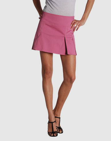 KAOS Women - Skirts - Mini skirt KAOS on YOOX