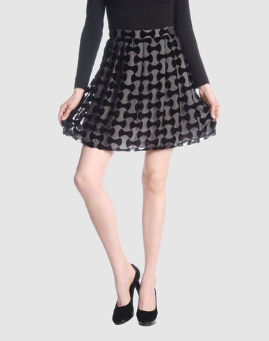 MIU MIU Women - Skirts - Knee length skirt MIU MIU on YOOX :  women miu knee brand