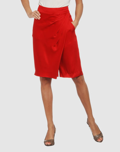 GIVENCHY Women - Skirts - 3/4 length skirt GIVENCHY on YOOX :  givenchy yoox red skirt skirt