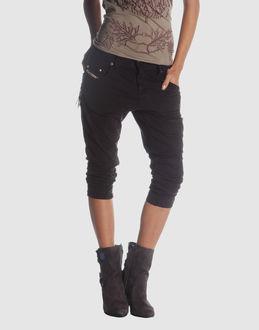 Loose Cropped Pants