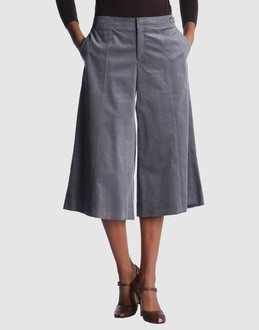 GUCCI Women - Pants - 3/4-length short GUCCI on YOOX :  gucci grey culottes