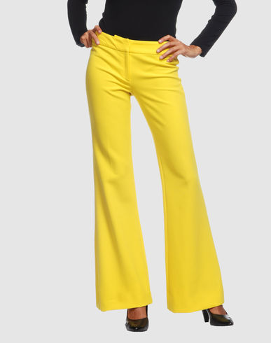 VERSACE Women - Pants - Dress pants VERSACE on YOOX :  pants versace slacks wool scarf