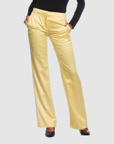 GIANNI VERSACE COUTURE Women - Pants - Dress pants GIANNI VERSACE COUTURE on YOOX :  pants satin pants gianni versace versace