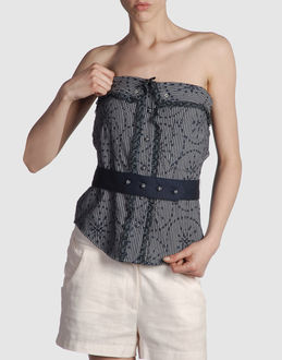 MANOUSH Women - Tops & tees - Top MANOUSH on YOOX :  top corset top corset strapless
