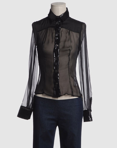 D&G Women - Shirts - Long sleeve shirt D&G on YOOX :  blouse d and g sheer blouse black blouse