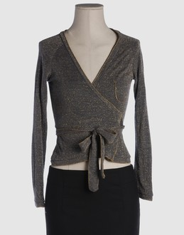 MOTEL Women - Sweaters - Cardigan MOTEL on YOOX :  wool wrap sweater cardigan light-weight