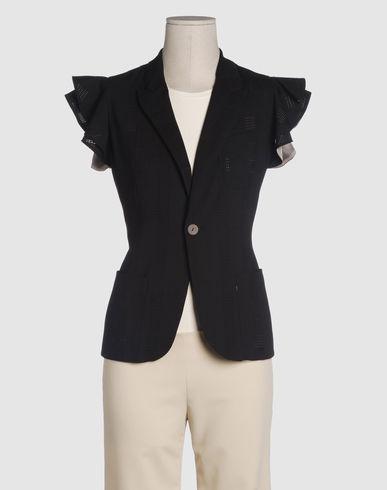 JEAN PAUL GAULTIER FEMME Women - Coats & jackets - Blazer JEAN PAUL GAULTIER FEMME on YOOX :  jacket blazer gaultier ruffle