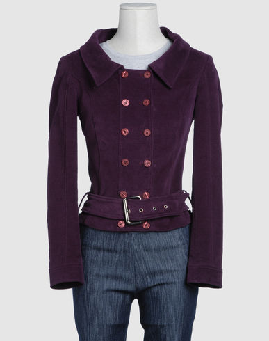 VERSACE JEANS COUTURE Women - Coats & jackets - Blazer VERSACE JEANS COUTURE on YOOX