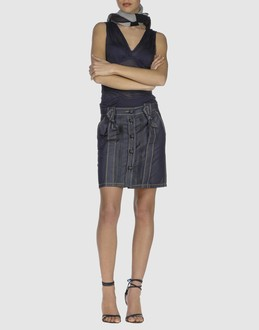 Viktor & Rolf Denim Skirt