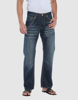 FAKE LONDON GENIUS Men - Denim - Jeans FAKE LONDON GENIUS on YOOX