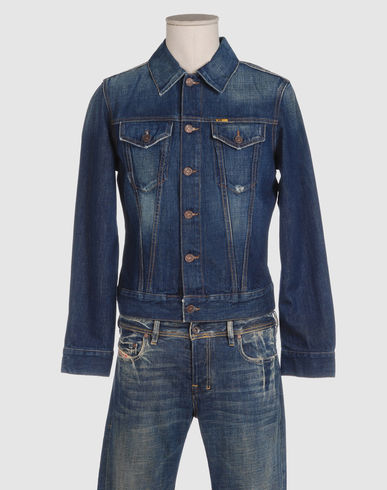 MELTIN POT Men - Denim - Denim outerwear MELTIN POT on YOOX :  jacket mens denim meltin pot