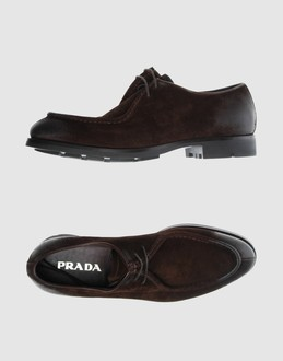 de6ca7029516a PRADA - Men - FOOTWEAR - Laced shoes on YOOX.COM