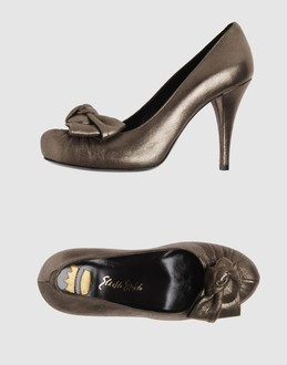 Ernesto esposito Women - Footwear - Closed-toe slip-ons Ernesto esposito on YOOX :  flower pumps leather metallic