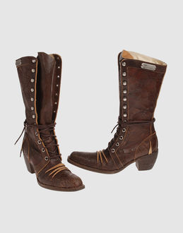 John galliano Women - Footwear - Boots John galliano on YOOX :  galliano contemporary flat john