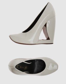 Marc jacobs Women - Footwear - Wedge Marc jacobs on YOOX :  wedge contemporary art cream