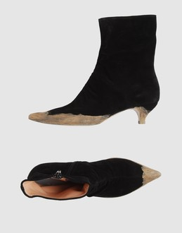 Martin margiela 22 Women - Footwear - Ankle boots Martin margiela 22 on YOOX :  ankle boot martin margiela gold toppe boots