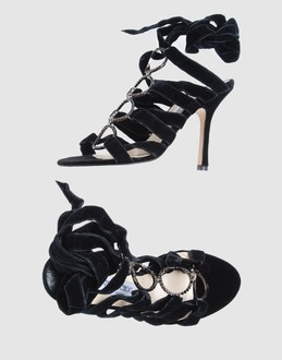 JIMMY CHOO LONDON Women - Footwear - High-heeled sandals JIMMY CHOO LONDON on YOOX :  diamonds designer satin velvet high-heeled sandals