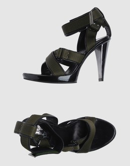 RODOLPHE MENUDIER Women - Footwear - High-heeled sandals RODOLPHE MENUDIER on YOOX :  leather designer high-heeled sandals rodolphe menudier