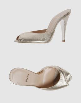 Vivia Women - Footwear - High-heeled sandals Vivia on YOOX