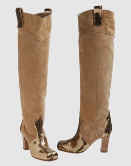ERNESTO ESPOSITO Women - Footwear - Boots ERNESTO ESPOSITO on YOOX :  suede boot leather women