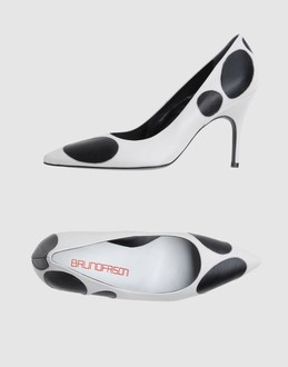 BRUNO FRISONI Women - Footwear - Closed-toe slip-ons BRUNO FRISONI on YOOX :  bruno frisoni heels shoes white