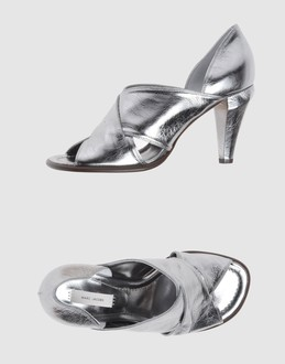 CHLOE' Women - Footwear - High-heeled sandals CHLOE' on YOOX :  metallic chloe shoes