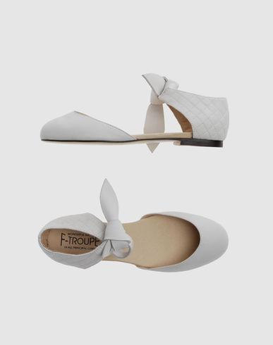 F-TROUPE Women - Footwear - Ballet flats F-TROUPE on YOOX