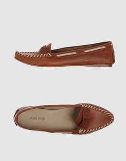 MIU MIU Women - Footwear - Moccassins MIU MIU on YOOX