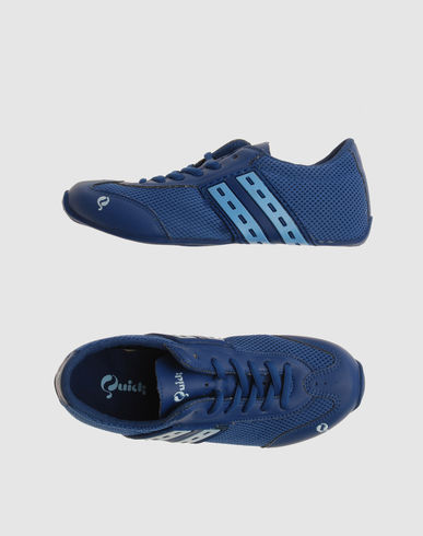 QUICK Women - Footwear - Sneakers QUICK on YOOX :  blue footwear women shoes