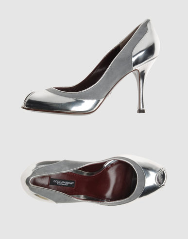 DOLCE & GABBANA Women - Footwear - Closed-toe slip-ons DOLCE & GABBANA on YOOX :  slip on dolce gabbana heels shoe