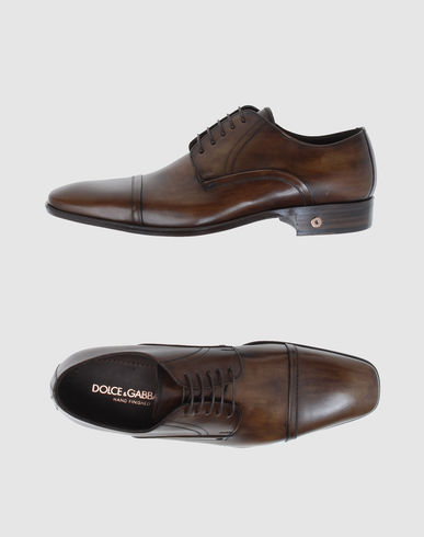 DOLCE & GABBANA Men - Footwear - Laced shoes DOLCE & GABBANA on YOOX