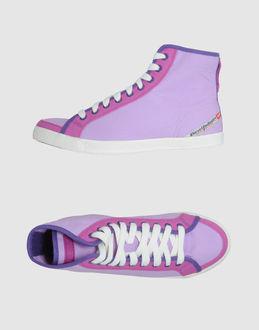 8f4be51b DIESEL FOOTWEAR High-top sneakers WOMEN