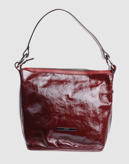 FERRE' Women - Handbags - Medium leather bag FERRE' on YOOX :  leather red ferre bag