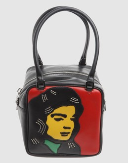 GILLI Women - Handbags - Small leather bag GILLI on YOOX :  yoox gilli colorful bag