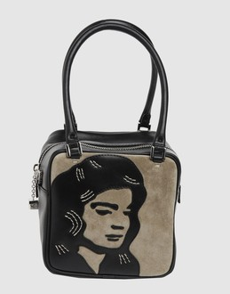GILLI Women - Handbags - Small leather bag GILLI on YOOX :  yoox gilli bag face