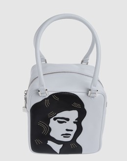 GILLI Women - Handbags - Small leather bag GILLI on YOOX :  yoox gilli white bag