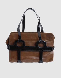 Marni Women - Bags - Medium leather bag Marni on YOOX :  handbag black leather marni