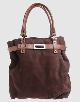 LANVIN Women - Handbags - Medium leather bag LANVIN on YOOX :  shoulderbag buckle bag framed closure