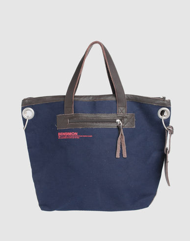BENSIMON Women - Handbags - Medium fabric bag BENSIMON on YOOX :  bensimon fabric women bags