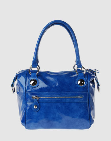 VI VI VEE Women - Handbags - Medium leather bag VI VI VEE on YOOX :  puse blue patent leather bag